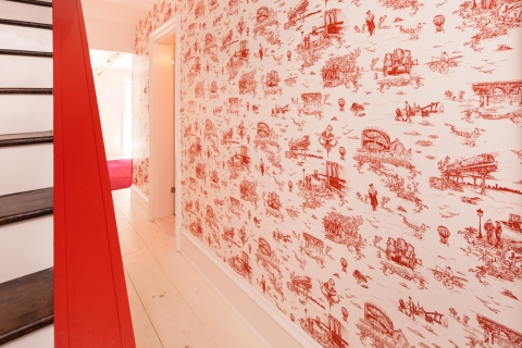 Brooklyn Toile livens up Mike D's hallway