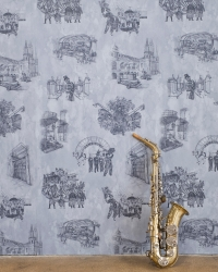 New Orleans Toile: Backstreets