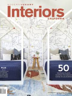Modern Luxury Interiors California, February 2020