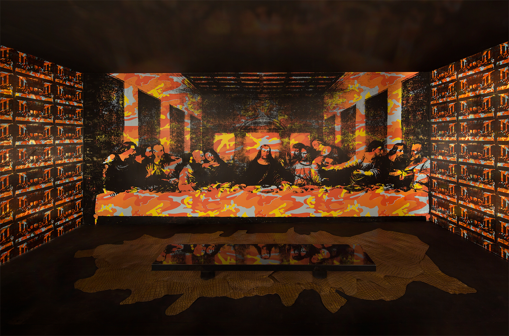 The Last Supper Mural Flavor Paper